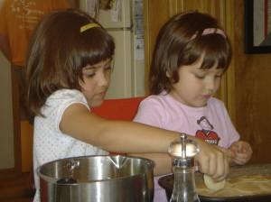 Isabella Elena cooking at Lee's